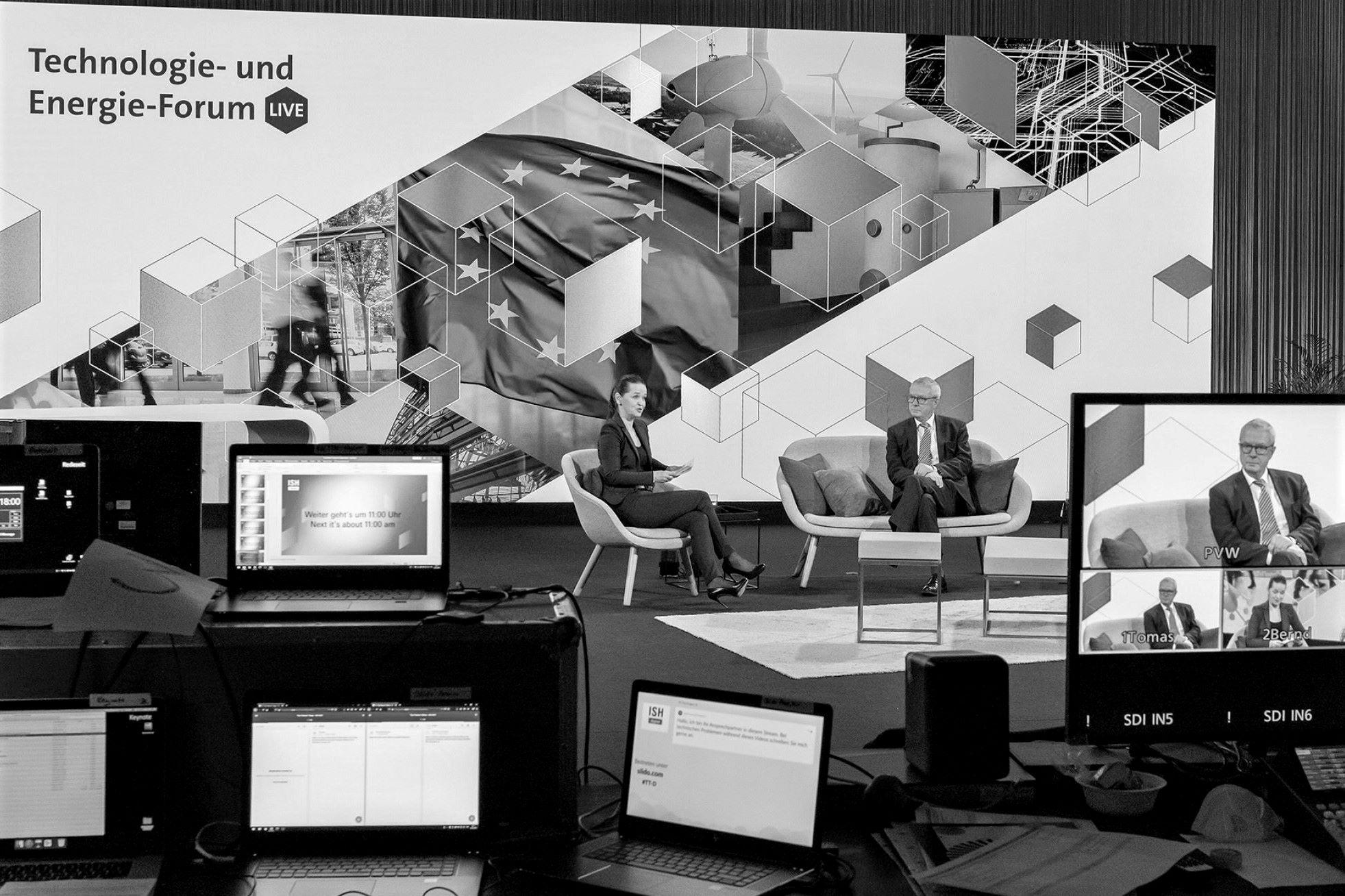 ISH digital 2021; Technologie- und Energie Forum